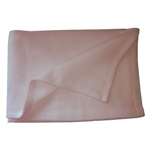 Polar Flace Baby Blanket - Pink