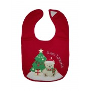 My First Christmas Baby Bib