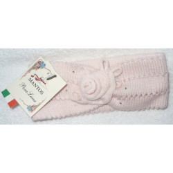 Wool Hair Band for Baby - Pink