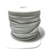 Elastic Braid for Sewing - Size 4 mm - White Color