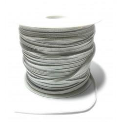 Treccia Elastica - Colore Bianco - Altezza 4 mm