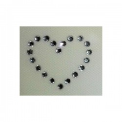 Iron On Strass Motifs - Heart
