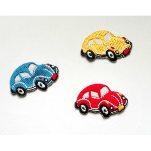 Iron-On Embroidery Sticker - Cars