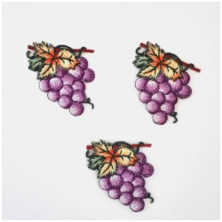 Iron-On Patch - Grapes Applications