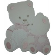 Iron-on Patch - Tenderly Pink Teddy Bears