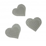 Iron-On Patch - Turtledove Hearts