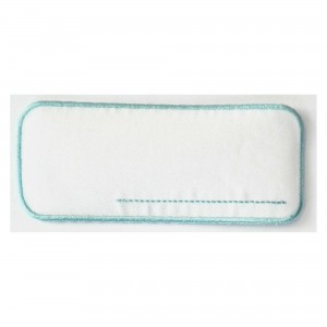 Iron-On Patch Label - Light Blue