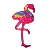 Paillettes Flamingo Patch