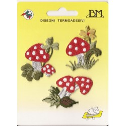 Iron-on Embroidery Sticker - Mushrooms