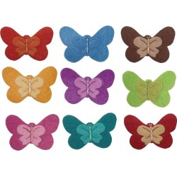 Iron-On Embroidery Sticker - Butterfly
