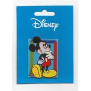 Disney - Iron-on Embroidery Sticker - Mickey Mouse