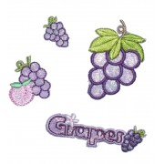 Iron-On Patch - Grapes