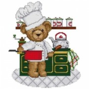 Counted Cross Stitch Charts - Cook
