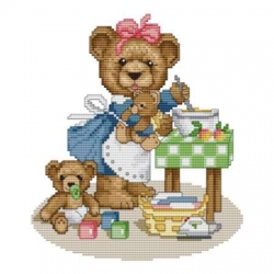 Counted Cross Stitch Charts - Housewife