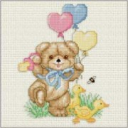 Counted Cross Stitch Charts - Beary Welcome