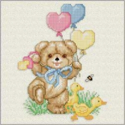 Schema Punto Croce - Beary Welcome