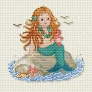 Counted Cross Stitch Charts -  Mermaid