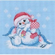 Counted Cross Stitch Charts -  Snow Baby
