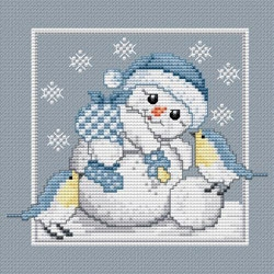 Counted Cross Stitch Charts -  Snowbaby Boy