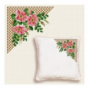 Counted Cross Stitch Charts -  Wild Roses Corner
