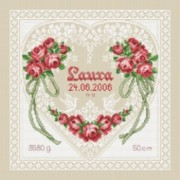 Counted Cross Stitch Charts -  Anniversary