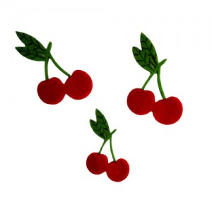 Felt Cherries