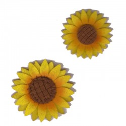 Felt Application - Sunflower