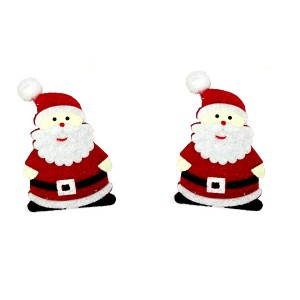 Christmas Ornaments - Felt Santa Claus
