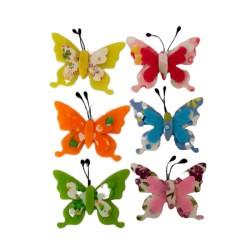 Decorazioni in Feltro con Adesivo - Farfalle