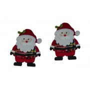 Christmas Felt Decorations - Santa Claus