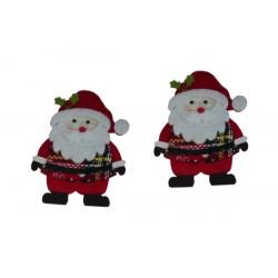 Aplicaciones Navideñas - Papà Noel de Feltro