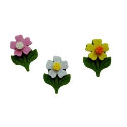 Felt Decorations - Spring Flowers