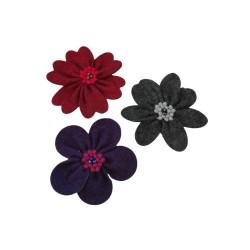 Flores Decorativos de Feltro