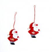 Christmas Ornaments - Felt Santa Claus