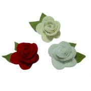 Flor de Fieltro - Rosas