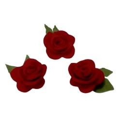 Fiori in Feltro - Rose Rosse