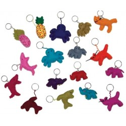 Felt Keychain - Animals