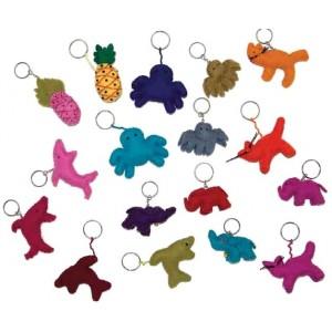 Llaveros de Feltro - Animalitos