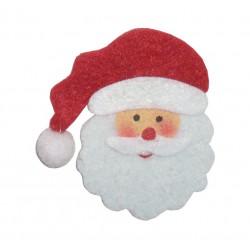 Decoraciones Navideñas de Fieltro - Papà Noel