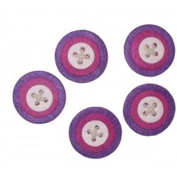 Decorazioni in Feltro - Bottoni 6 cm