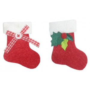 Felt Decorations - Christmas Stockings