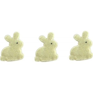 Felt Decoration - Bunny Cream