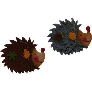 Felt Decoration - Hedgehog