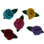 Felt Christmas Decoration - Roses