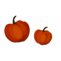Felt Ornaments - Pumpkins