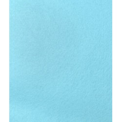 Light Blue Felt - 1 mm  Thickness