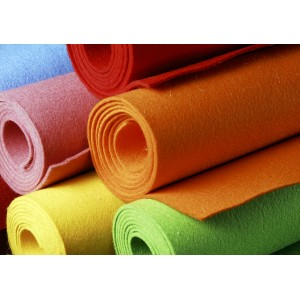 Coloured Felt Sheets from 3 mm - 50x100 cm width