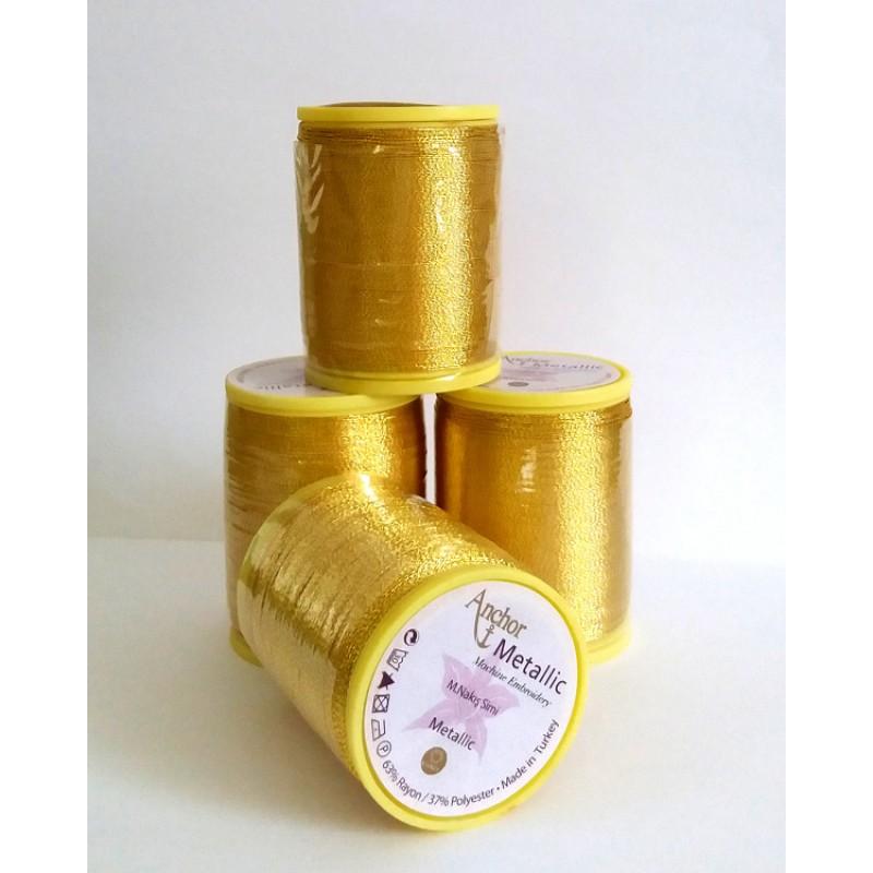 metallic embroidery machine thread