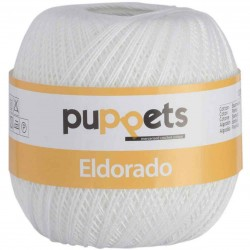 Coats Eldorado Puppets n. 16 - Color Blanco gr 100