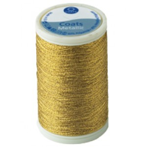 Coats Metallic - Hilo Metalico - Color Oro